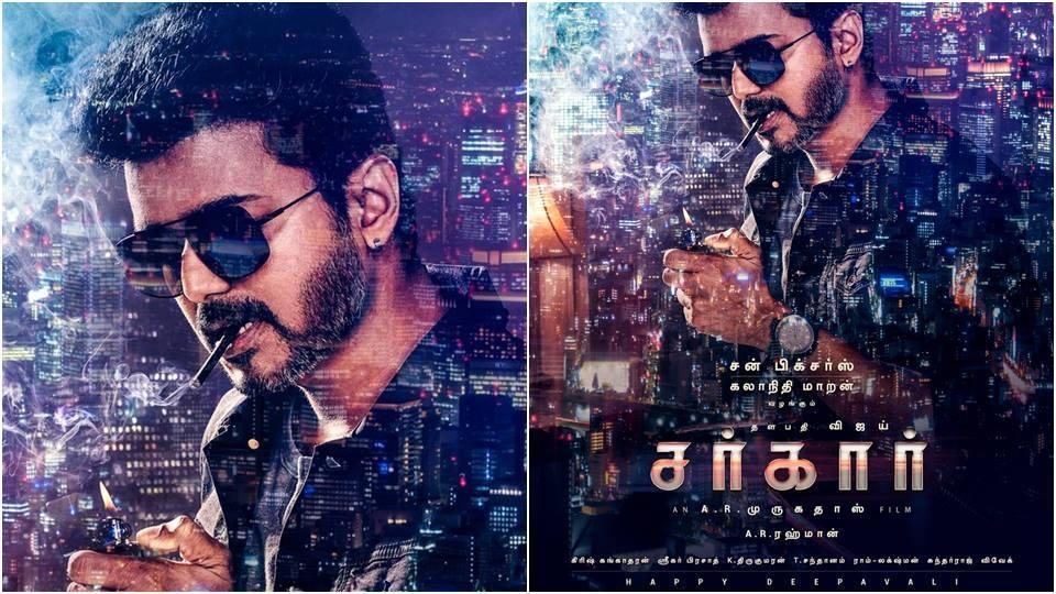Thalapthy 62 first look: Vijay's film title was revealed by AR Murugadoss as Sarkar.