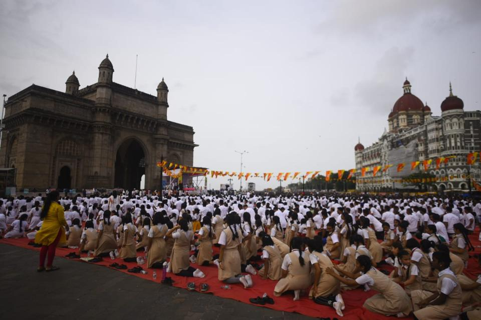 Mumbai,Yoga Day in Mumbai,International Yoga Day