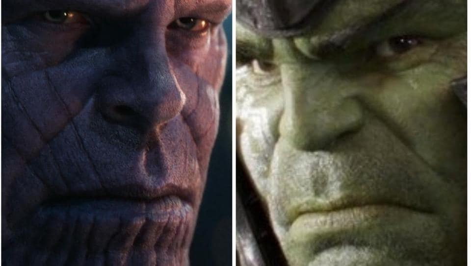 Thanos' villainy was established in his fight with Hulk.