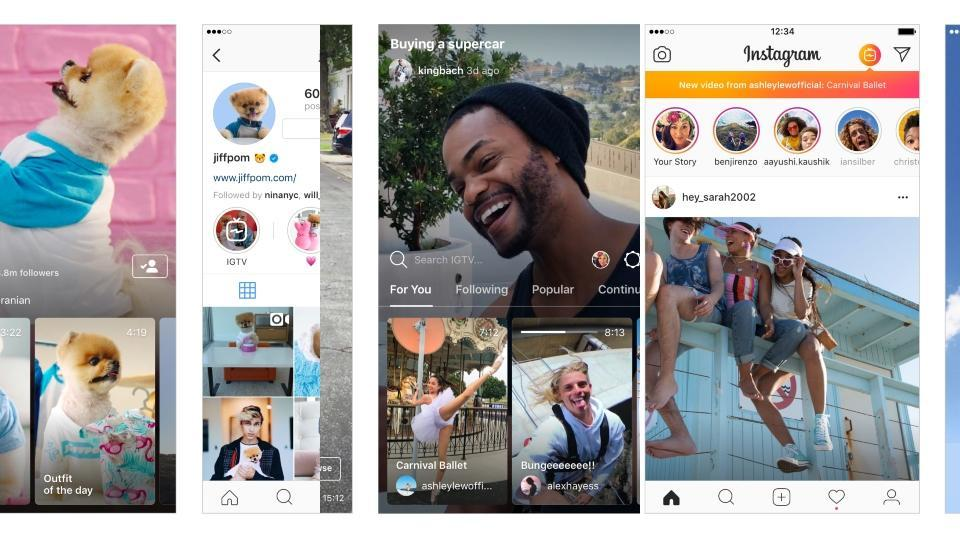 """IGTV will enable any user to upload long-form videos and will also include """"channels"""" from video """"creators."""""""