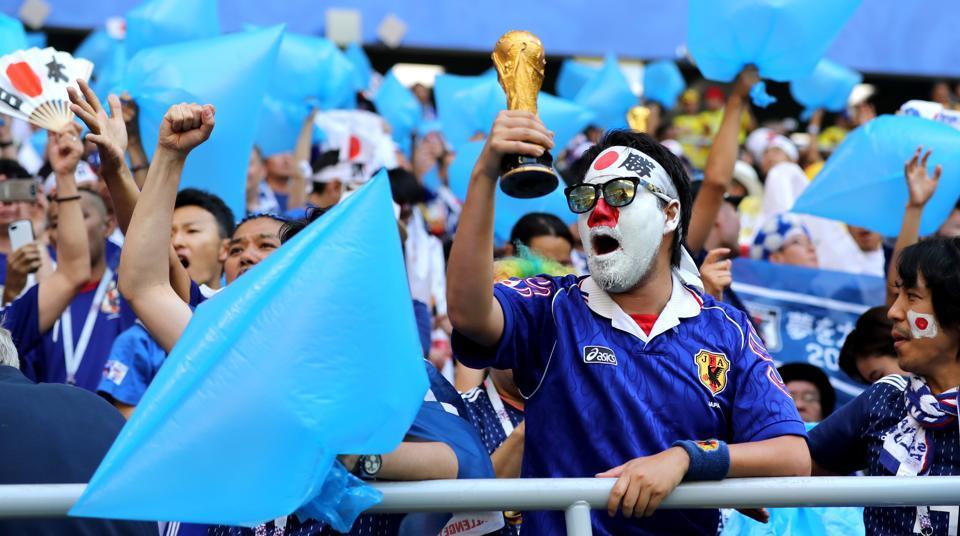 FIFA World Cup 2018,2018 FIFA World Cup,Japan football team