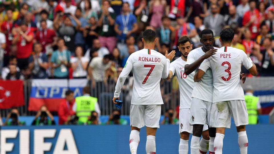 POrtugal secured a 1-0 win over Morocco but their left-side attack was a weak spot in the FIFA World Cup 2018 encounter.