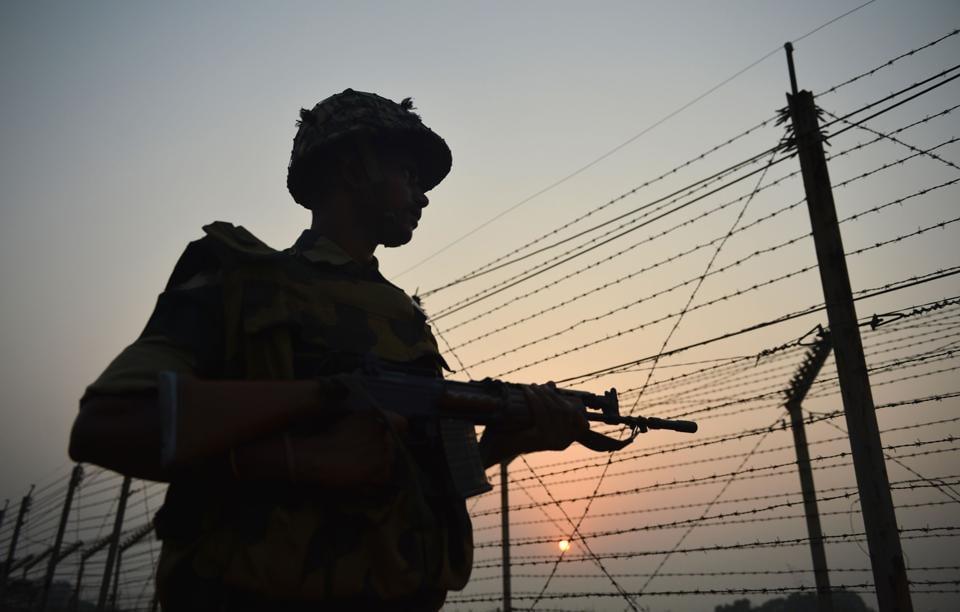 BSF,Pakistan Rangers,International border