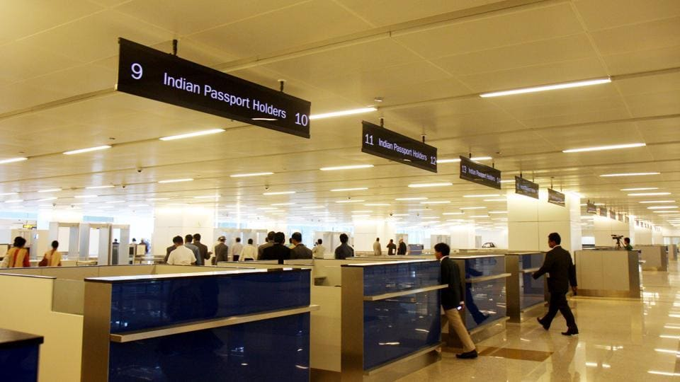 New e visa desks to come up at new delhi airport to cut for International decor gates