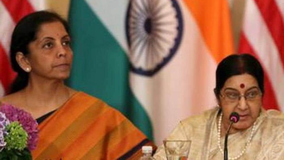 Sushma Swaraj,Nirmala Sitharaman,India US talks
