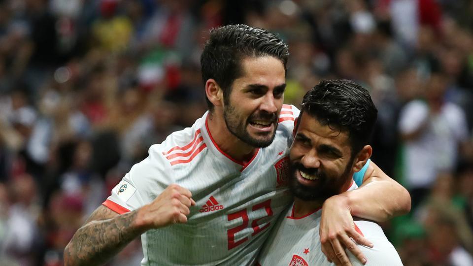 With this win, Spain, Portugal and Iran are now the three teams in contention in what promises to be a very close Group B.  (REUTERS)