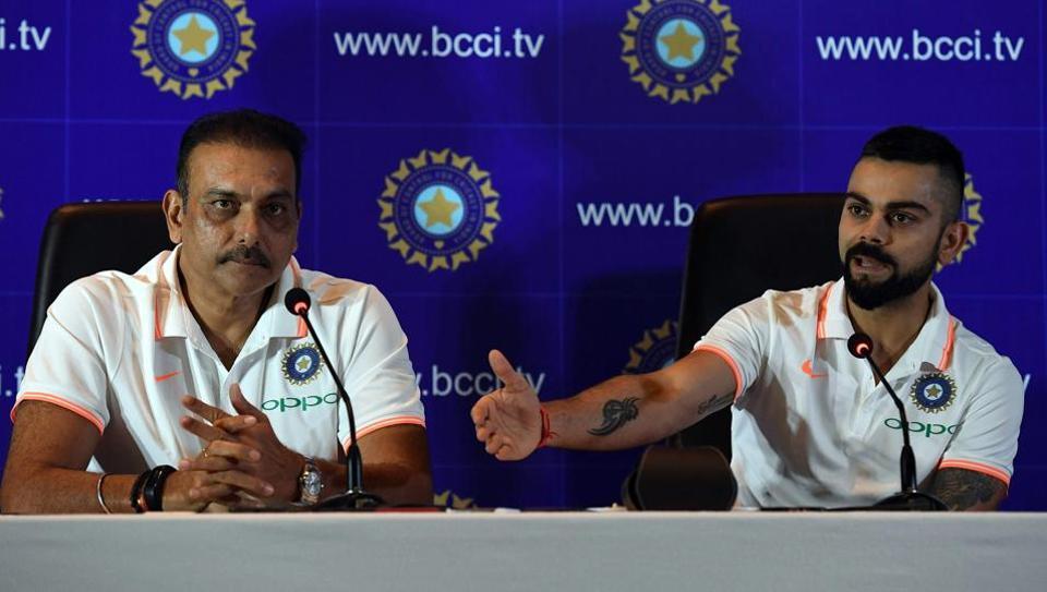 Virat Kohli,Indian cricket team,Ravi Shastri