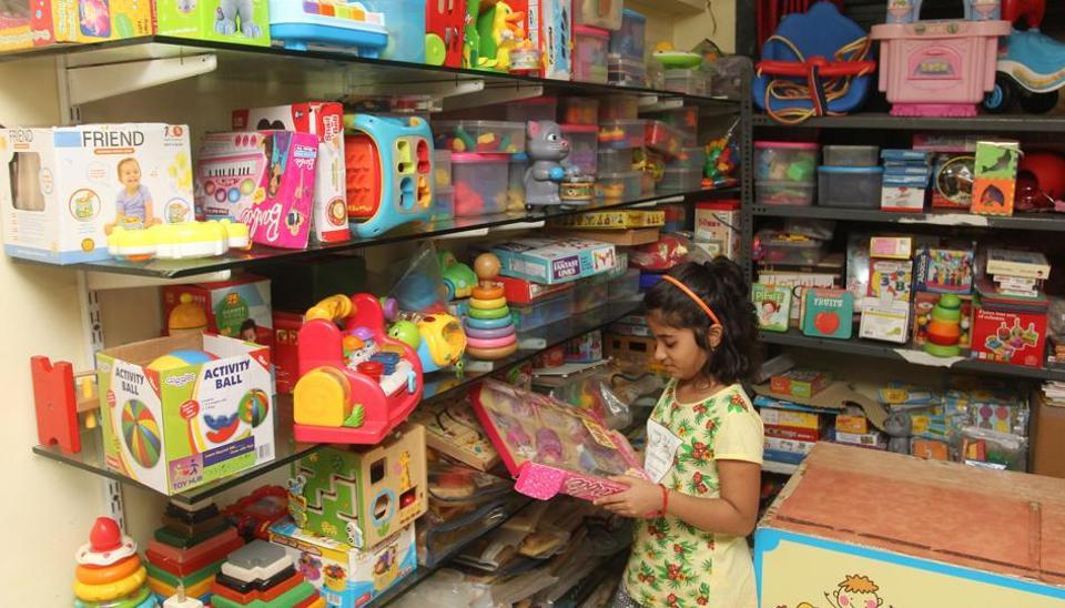 Thane,Toy library,Teen Hath Naka