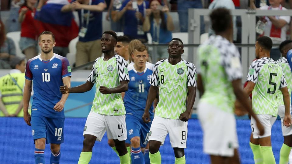 FIFA World Cup 2018,Nigeria vs Iceland,live updates