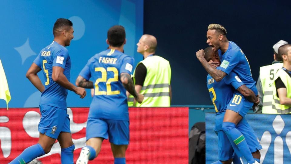 FIFA World Cup 2018, St Petersburg, highlights, Brazil win ... A Cup Vs C Cup
