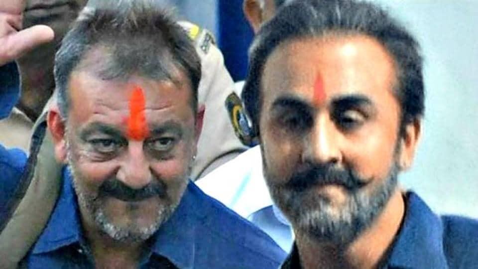 Ranbir Kapoor plays Sanjay Dutt in the biopic, Sanju.