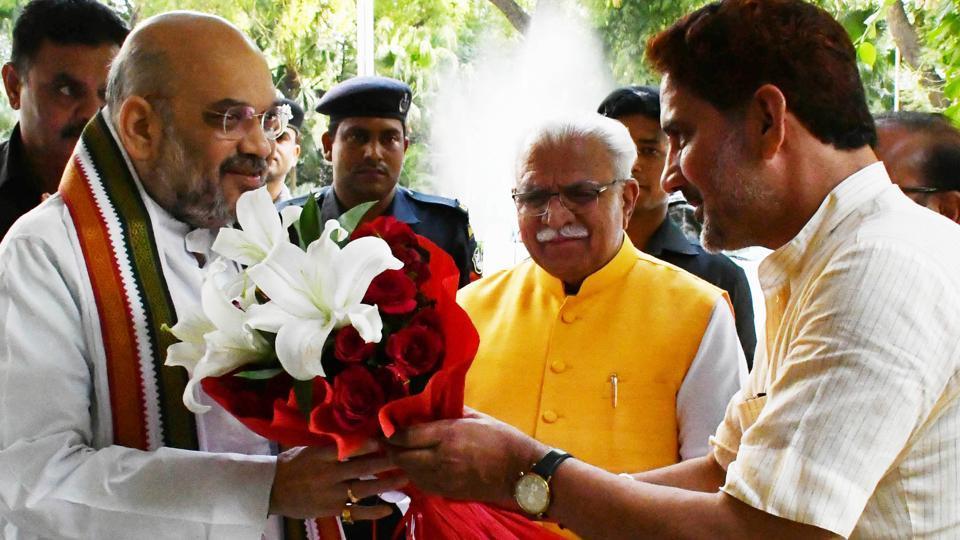 Amit Shah,BJP national president,Haryana politics