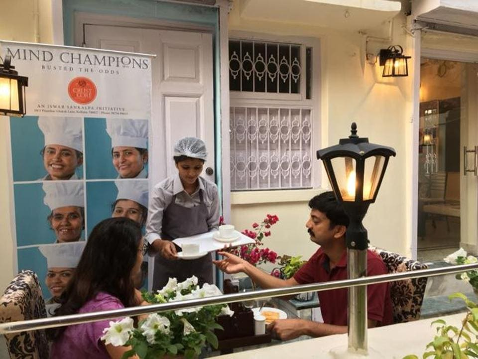 Crust & Core café in Kolkata is manned by the rescued homeless and mentally challenged. The women were trained for 10 months in baking, cooking, running a kitchen — and dealing with strangers as well as their own and each others' symptoms.