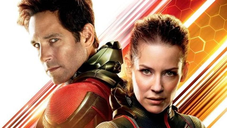 Paul Rudd and Evangeline Lilly star in Ant-Man and the Wasp.