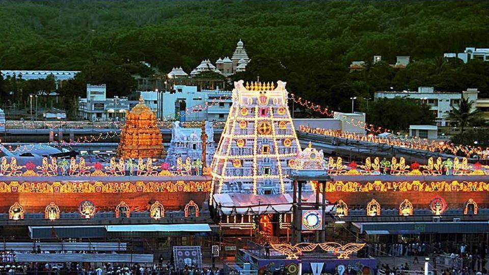Chandrababu Naidu,Tirumala,AV Ramana Deekshitulu