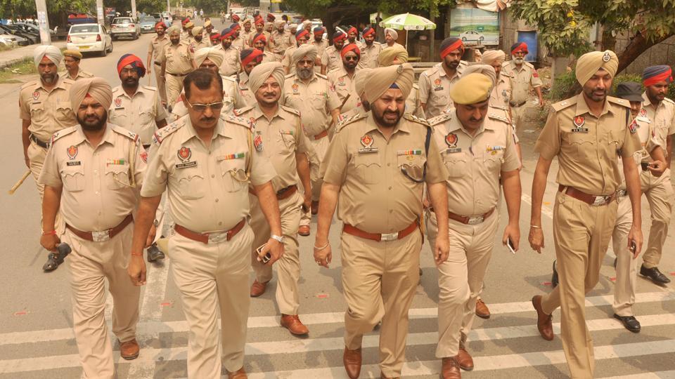 Punjab Police,Punjab Police uniform,stylish uniform