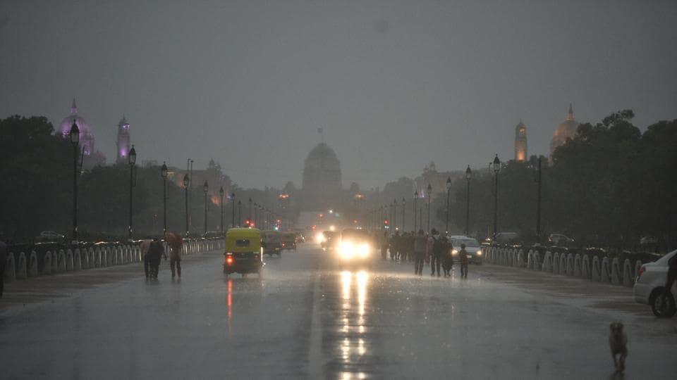 Pre-Monsoon showers,Monsoon,Delhi