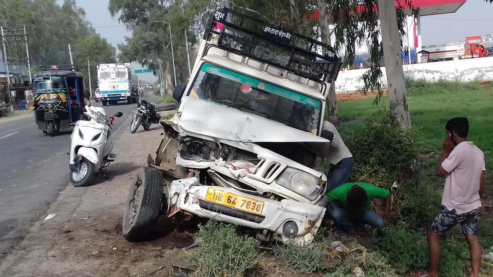 accident in Kaithal,road mishap in Kaithal,Four killed