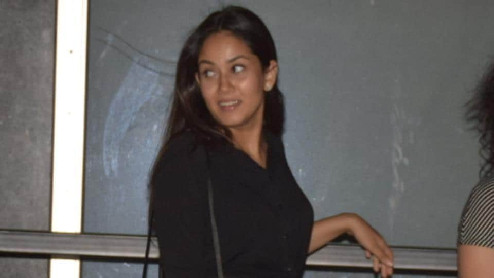 Mira Rajput was seen at the Indigo restaurant in Juhu with her friends.