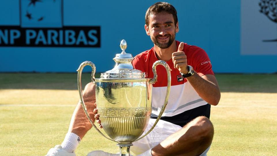 Marin Cilic,Novak Djokovic,Queen's Club Championships