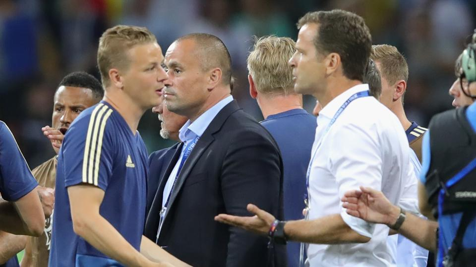 45f03a3b98f Angry Sweden coach blasts Germany for 'rubbing it into our faces ...