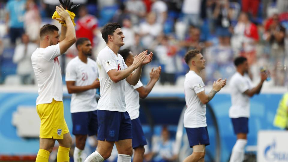 England Registered second consecutive win to seal their qualification for the round of 16 of the FIFA World Cup 2018. (AP)