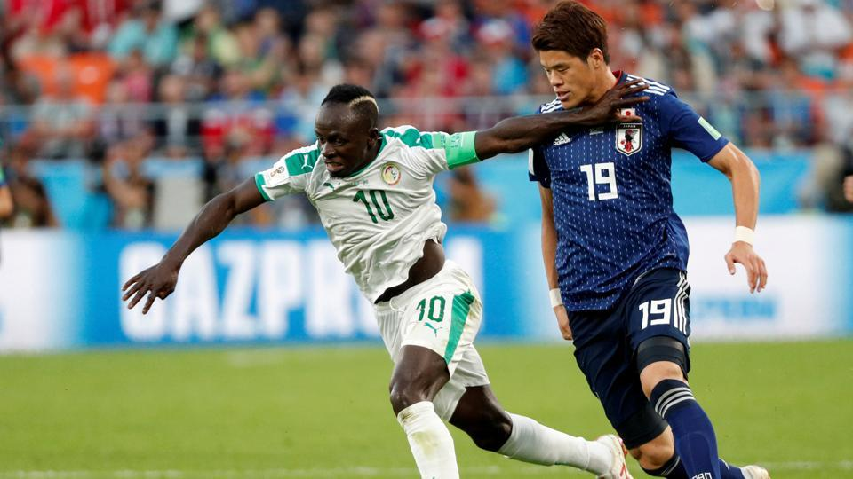 Senegal and Japan were evenly matched, meaning the 2-2 result was the right one.  (REUTERS)