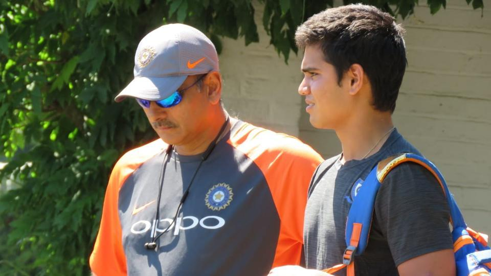 Arjun Tendulkar,Indian cricket team,Ravi Shastri
