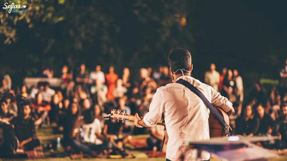 Secret gigs,Poetry Meetups,Sofar Sounds