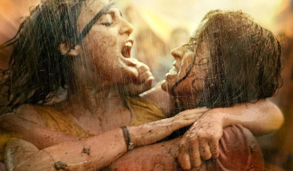 The first poster of Pataakha.