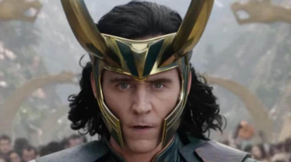 Loki, played by Tom Hiddleston, in a still from Thor: Ragnarok.