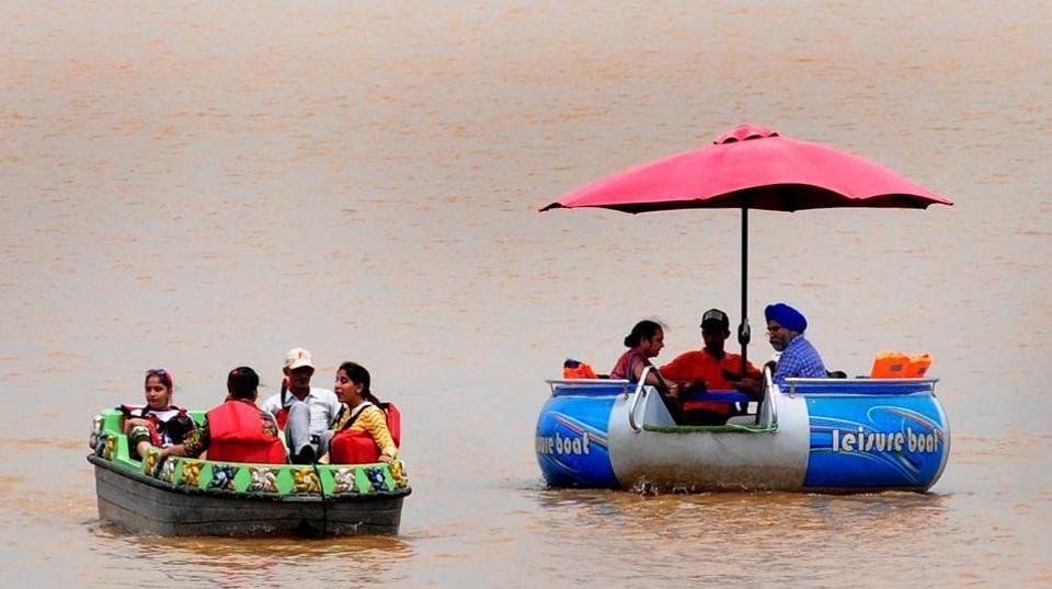 Monsoon in tricity,rainy season,Chandigarh