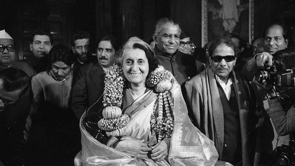 Arun Jaitley,Indira Gandhi,Arun Jaitley blog post