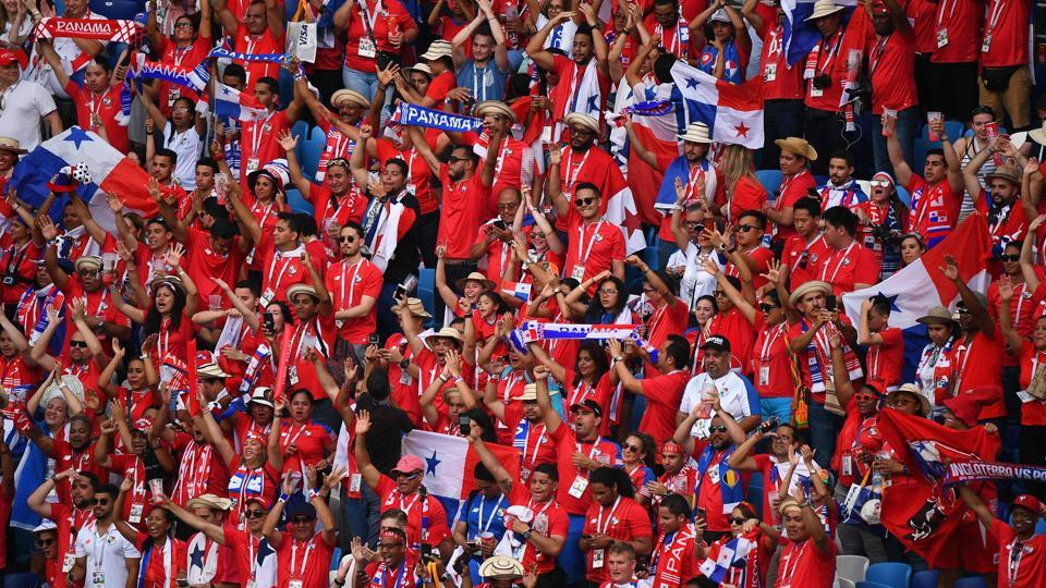 Panama fans cheered for their team but at the end of the day, they were left disappointed.  (AFP)