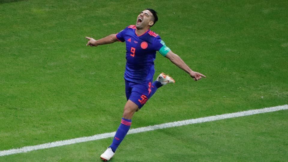 FIFA World Cup 2018,Radamel Falcao,Yerry Mina