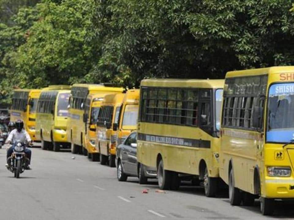 As per the new school bus policy, the buses used exclusively for ferrying students will have to pay only Rs 100 per seat as tax — this is less than what other buses have to pay.