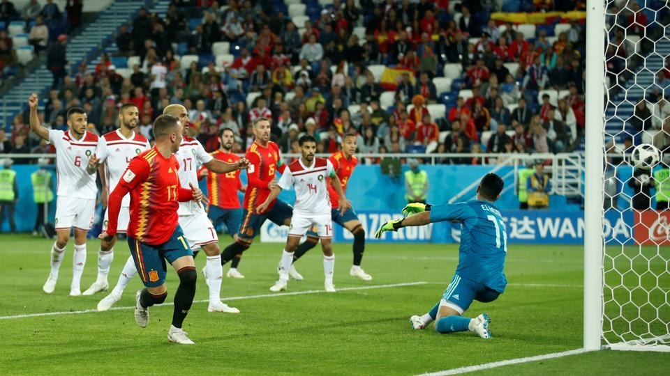 FIFA World Cup 2018,Spain vs Morocco,FIFA World Cup 2018 live