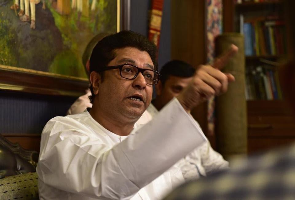 MNS chief Raj Thackeray.