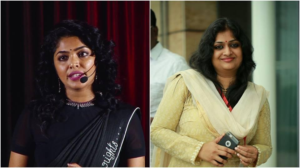 Rima Kallingal and Geethu Mohandas quit AMMAprotesting Dileep's suspension being lifted.