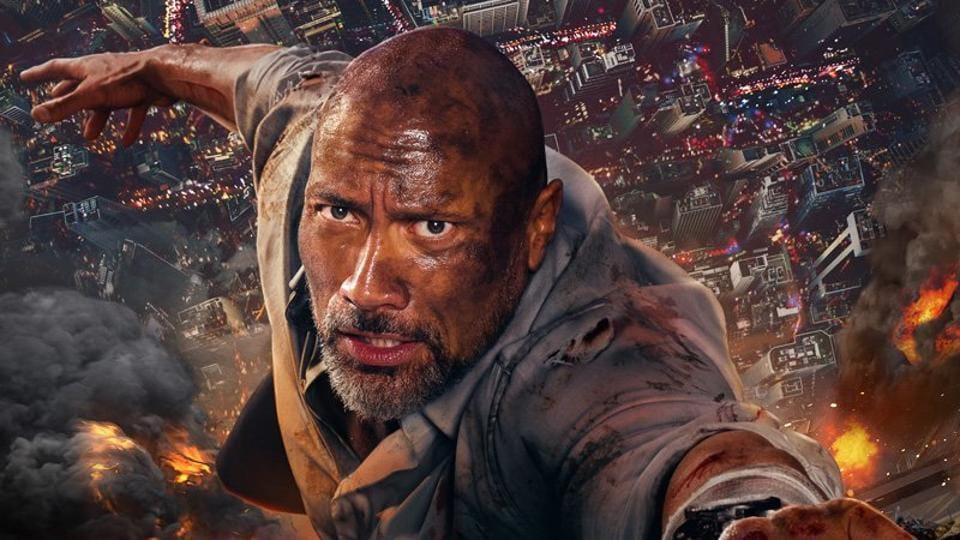Afbeeldingsresultaat voor Skyscraper movie 2018