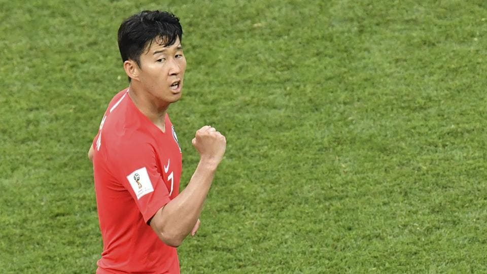 South Korea forward Son Heung-min has been helped by his stint at Premier League club Tottenham Hotspur.