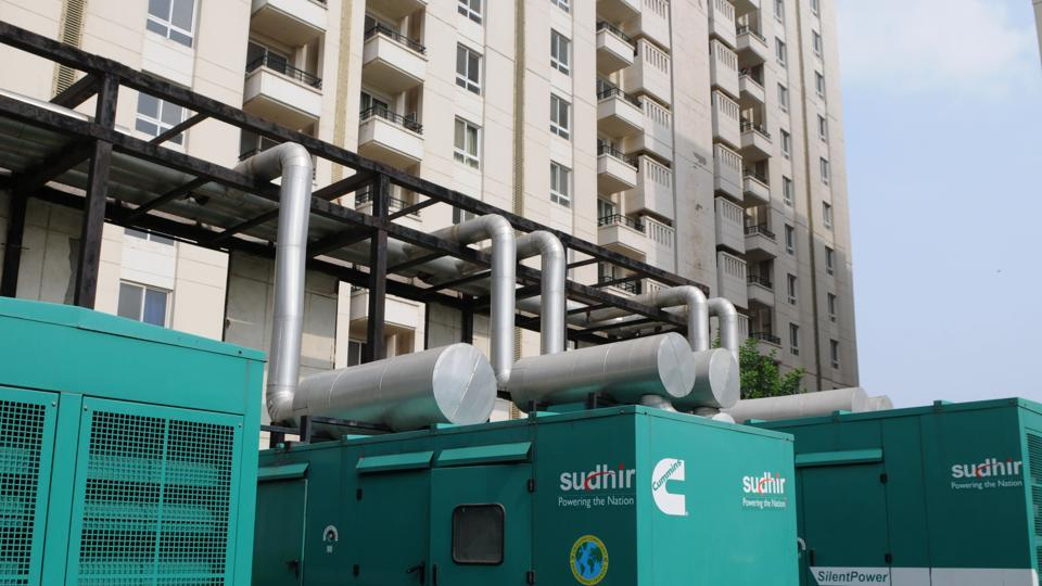 Areas with diesel generators more polluted: Study | gurgaon