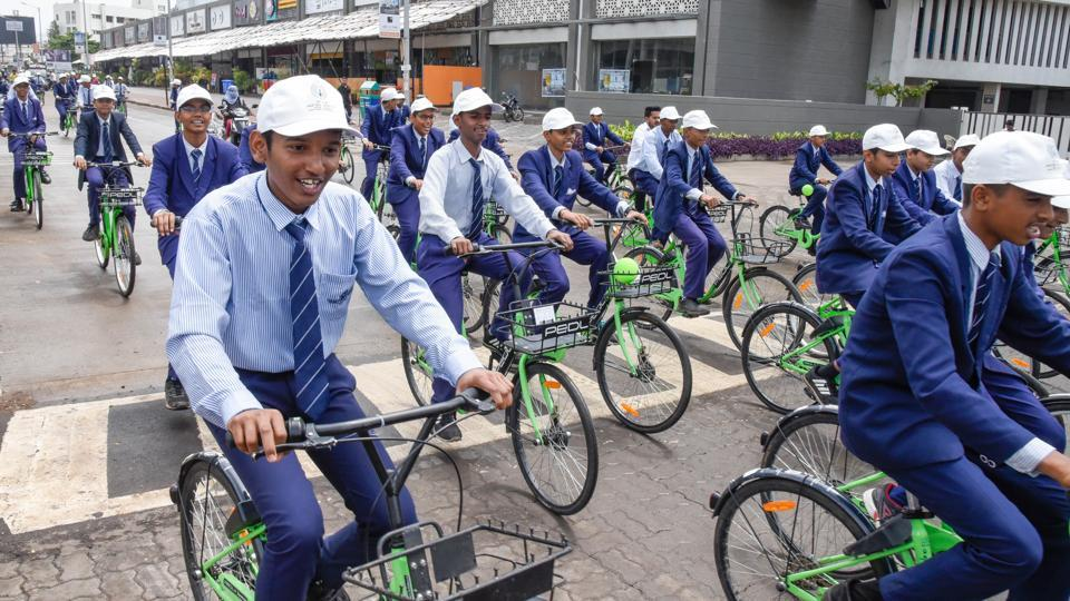 Bicycle sharing,Pune,Smart City