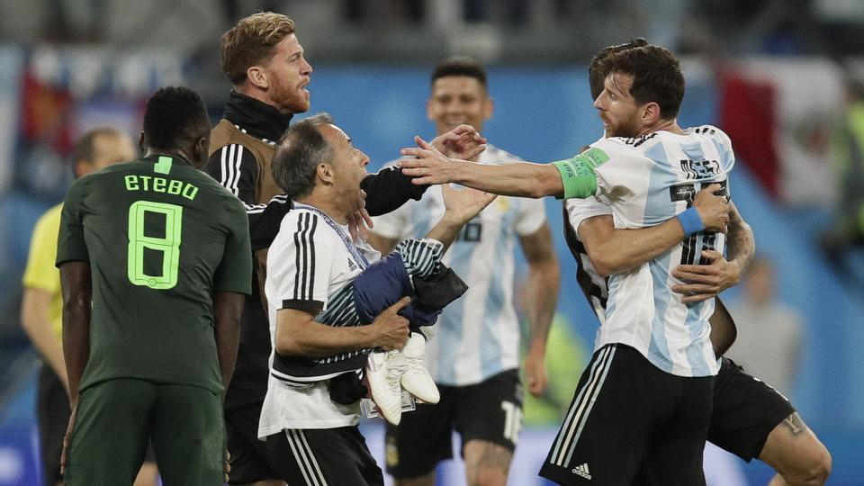 FIFA World Cup 2018,Lionel Messi,Argentina football team