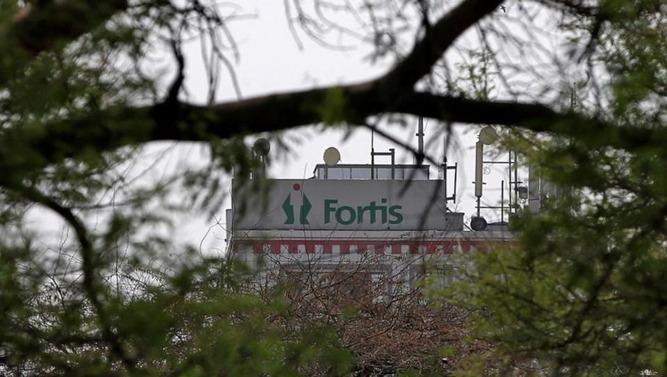 A Fortis hospital building is pictured in New Delhi, India, May 6, 2018. REUTERS/Adnan Abidi