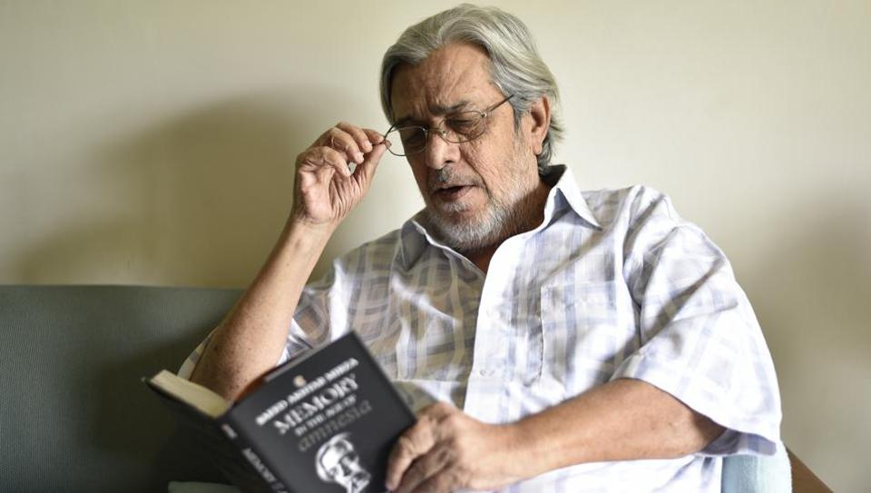 Saeed Akhtar Mirza,Memory in the Age of Amnesia,Saeed Akhtar Mirza's new book