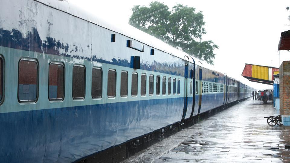 A sanitation department team came and cleaned all the coaches, including toilets, after passengers protested at the Ambala Cantt railway station.