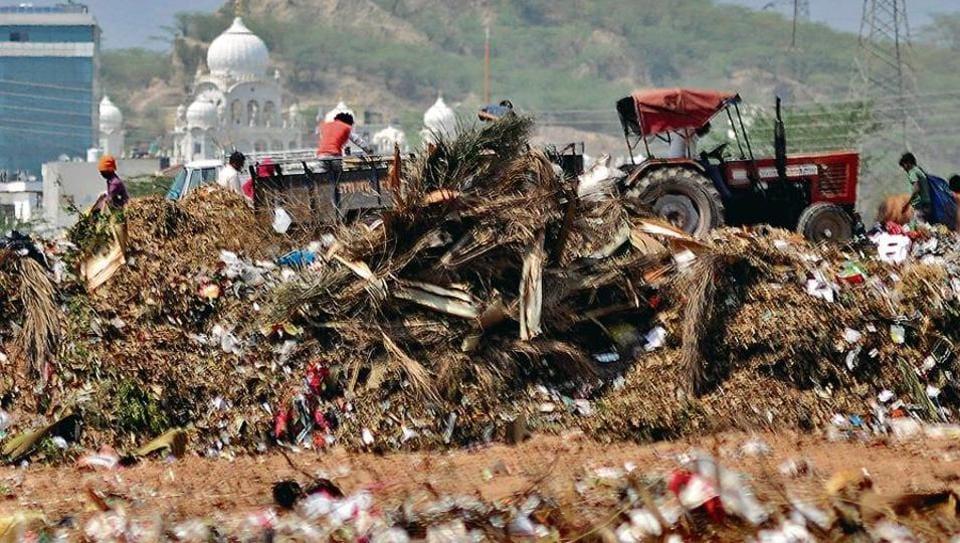 garbage,panchula treatment plant,Panchkula