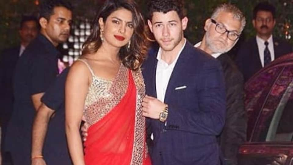 Priyanka Chopra,Nick Jonas,Ambani party