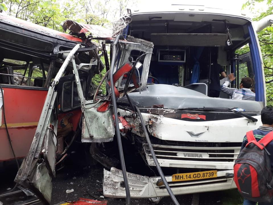 The accident took place around 9 am, 7 km from Alibaug town in Maharashtra's Raigad district.